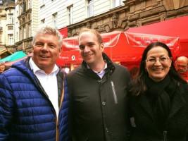 Mit unserem OB Dieter Reiter und Sebastian Roloff