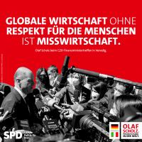 Olaf Scholz hat mit der globalen Mindeststeuer einen großen Erfolg für Steuergerechtigkeit errungen.