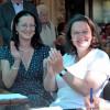 Jazzfrühschoppen von Uli Pfaffmann im Schlösselgarten mit Bundesarbeitsministerin Andrea Nahles