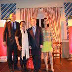 Jokob von Weizsäcker (MdEP), Maria Noichl (MdEP), Dr. Mike Malm (Bezirksrat) und Claudai Tausend (MdB)